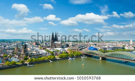 Cologne Cityscape, Germany