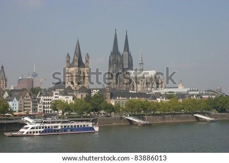 Cologne, Germany, skyline