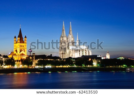 Cologne/Köln, Germany - stock photo
