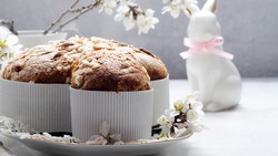 Colomba - italian easter dove cake.