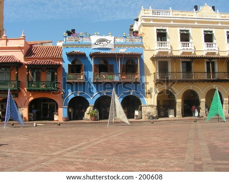 colonial architecture - cartagena