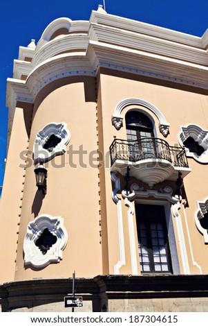 Colonial architecture in Guatemala City