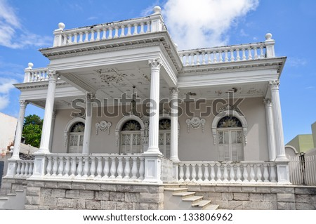 Colonial architecture in Ponce, Puerto Rico