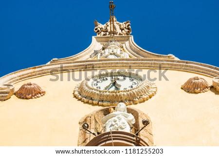 Colonial city of Mazatlan Mexico. Catholic church of Mazatlan. #1181255203