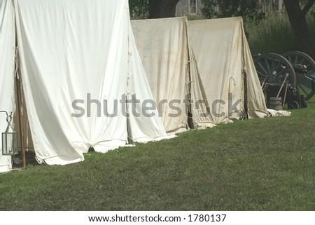 Colonial Encampment--Revolutionary War Reenactment