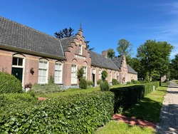 Colonial home in Wilhelminaoord in Drenthe the Netherlands