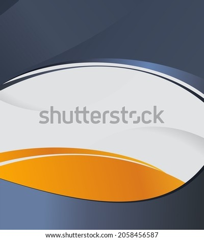 Color background with wave - Abstract Business Background