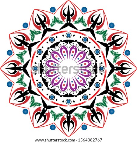 Color beautiful flower in the sea Pattern,Pattern,Pattern,Pattern,Pattern,