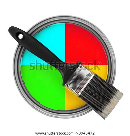 color choosing concept
