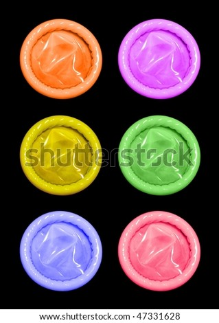 color condoms