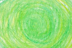 color crayon circles on paper drawing bacground texture