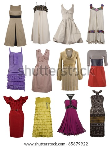 color dress collection
