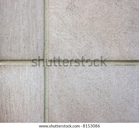 Color DSLR picture of light grey brick wall. Good for abstract. Horizontal with copy space for text