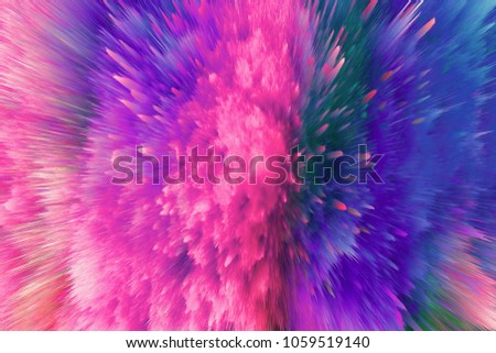 Stock Photo Color dust explosion,pure texture 4K ultra high definition background,texture shading picture material