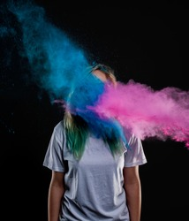 Color Explosion in Face
