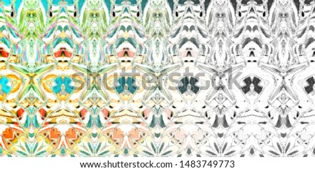 Color fading abstract pattern for textile and design