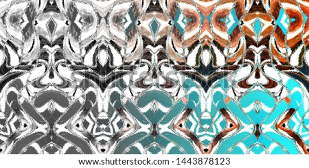 Color fading horizontal abstract pattern for textile and design