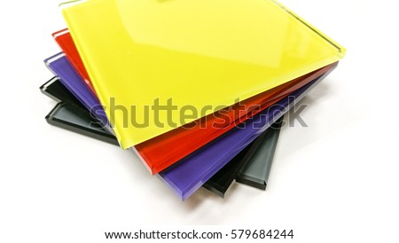 color glass material