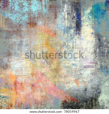 Color grunge background, scratched surface