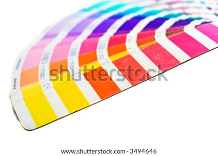 color lines - stock photo