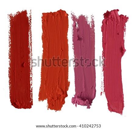 color lipstick stroke