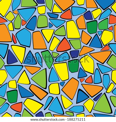 color mosaic seamless pattern #188275211