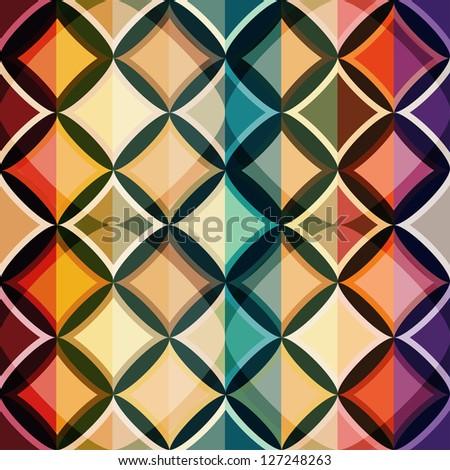 color mosaic seamless pattern (raster version)