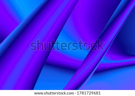 Photo of  Color neon gradient. Moving abstract blurred background. The colors vary with position, producing smooth color transitions. Violet blue ultraviolet. . High quality 4k footage