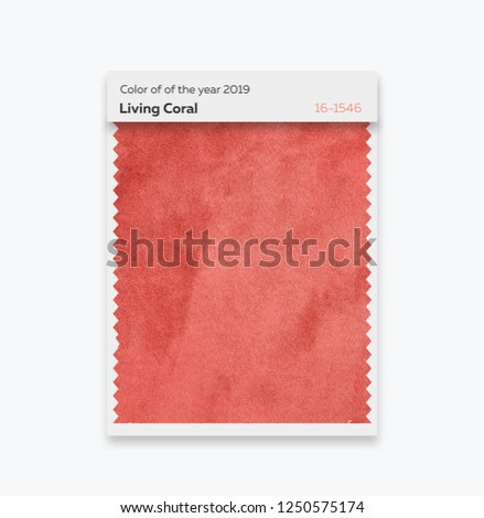 Color of the year 2019, Living Coral #1250575174
