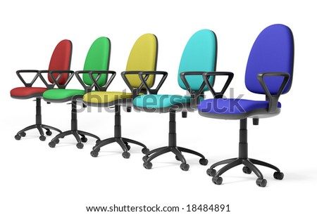 color office armchair