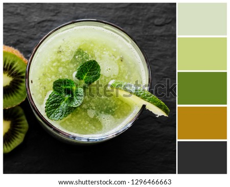 Color palette. Color theory concept. #1296466663