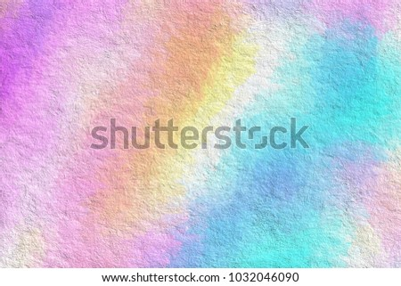 Color pastel splashes Sample Surface for your design. Gradient background texture is blurry. Love poly consisting .Beautiful. Used for paper design, book. in abstract shape Website work, stripes,tiles - Shutterstock ID 1032046090