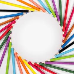 Color pencils Frame