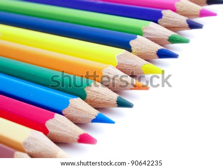 Color pencils. Insulated composition #90642235