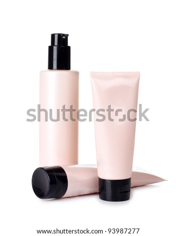 Color picture tubes of pink and cream