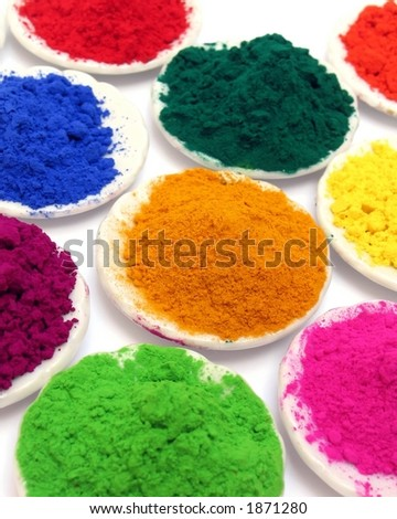 Color powders