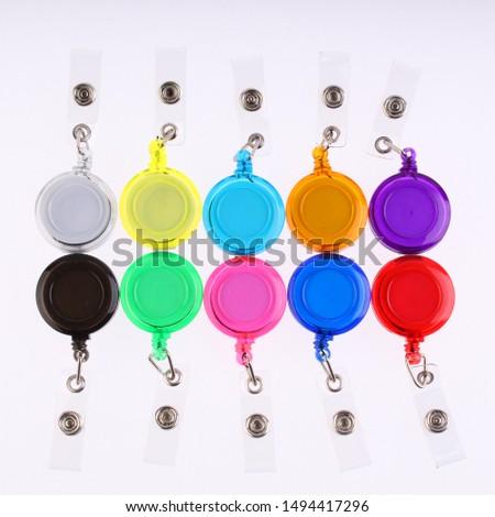 Color Premium  Retractable Badge Reels