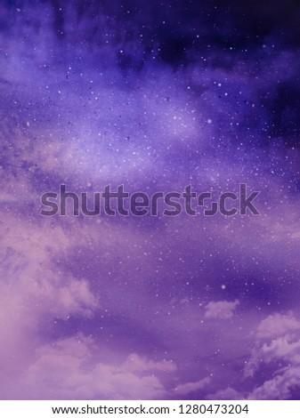 Color romantic sky background #1280473204