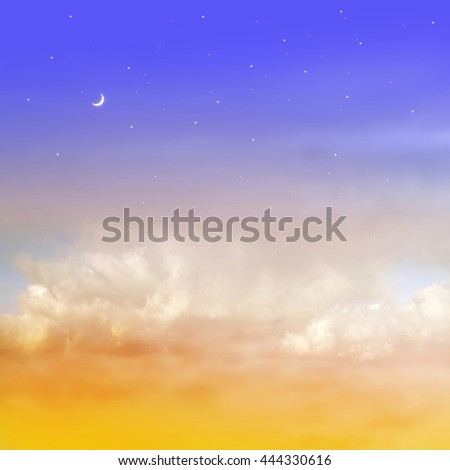 Color romantic sky background #444330616