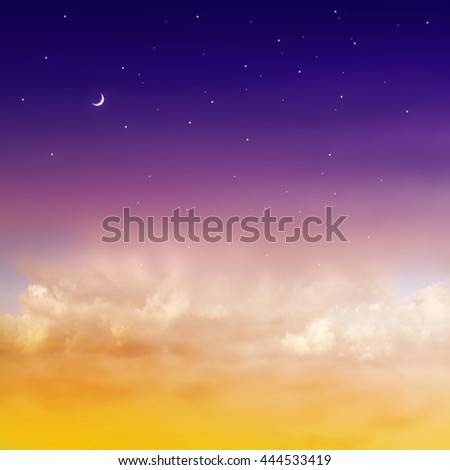 Color romantic sky background #444533419