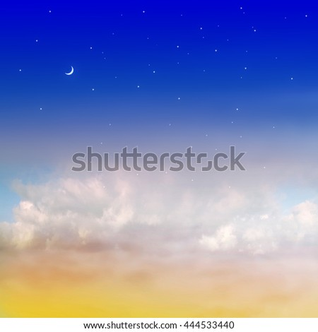 Color romantic sky background #444533440