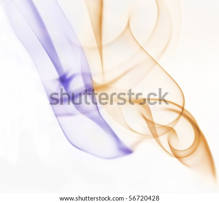 Color smoke background