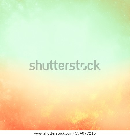Color summer background. Green, sunny  backdrop.  Idyllic summer weather. It creates a holiday mood, joy, fresh tropical breeze, the sun and heat.