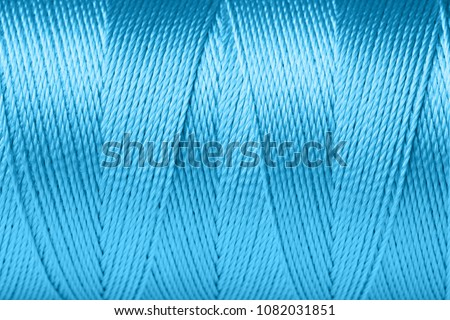 Color thread spool, closeup