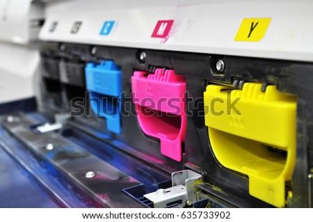 Color toners in the digital printer #635733902