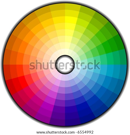 Color Wheel with 192 patterns. See my portfolio for more color wheels.