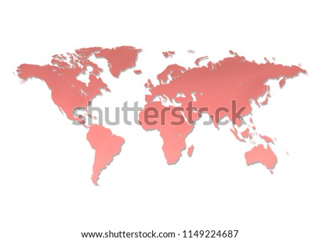 color world map background #1149224687