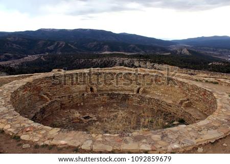 Colorado Chimney Rock Great Kiva