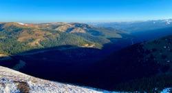 Colorado Mines Peak and Mount Flora Berthoud Pass Idaho Springs