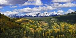 Colorado mountain vista